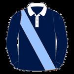 """Rugbyhemd """"Diagonaler Streifen"""""""