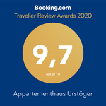 Booking Awards 2020 Apartment Urstöger
