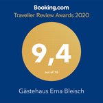 Booking Awards 2020 Apartment Bleisch