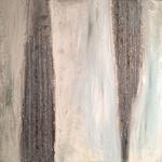 Ohne Titel, 2014, Acryl, Strukturmasse, 40 x 40 x 2 cm