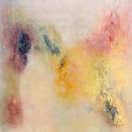 """Der Schmetterling"" -  Acryl, Pigmente, Strukturmasse, 60 x 60 x 4 cm"