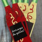 Création de bouteilles pour Le caviste Antoine de Forcalquier