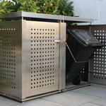 Doppelbox für 120 l-Mülltonnen