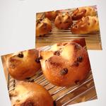 「シュガーレーズン」レーズンが入ったパン。 6個 ¥3000