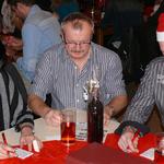 Auch Andrea, Edwin und Gerd spielten Bingo mit