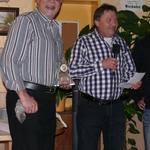 Auch Gerhard wurde geehrt als Zweiter der B-Senioren bei den BZM