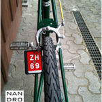 NANDROLON, TdS, Singlespeed Bike, British Racing Green