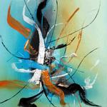 HolyDay, 60 x 80 cm, Acryl auf Leinwand - Verkauft