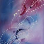 pure Verwandlung, 60 x 80 cm, Acryl auf Leinwand