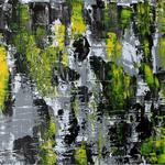 Yellow Wall, 80 x 60 cm, Acryl auf Leinwand