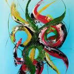 DesyDay, 60 x 80 cm, Acryl auf Leinwand