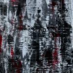 High Wall, 140 x 40 cm, Acryl auf Leinwand - Verkauft