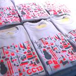Die fertigen Shirts (Bild: Thomas Waibel/Polygraphicae)