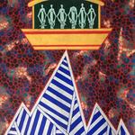 """Jean-Christophe ATTENCOURT, """"Ararat"""", Pastel à l'huile sur acrylique, 100x70 cm, oeuvre disponible à l'emprunt"""