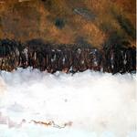 """Elipi, """"Oh sec! Cours"""", Acrylique, encre sur toile, 105x90 cm, 2019, oeuvre disponible à l'emprunt"""