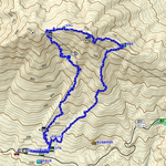 GPSトラックログ(反時計回り)