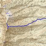 GPSトラックログ(往路のみ記録)