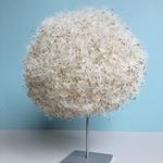 Löwenzahn-Samen auf Metallständer, Höhe ca 25cm
