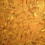 Korktapete, natur gelb