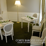 Corte Barozzi Venice Suites -- two-bedroom apartment - the kitchen