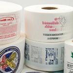 Permanente Textilkennzeichnung: Bild Rollen mit Logos zum Patchen