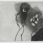 Sans titre - eau forte, aquatinte et brunissoir - 12,4 x 16,8 cm - 1996