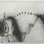 Sans titre - pointe sèche, eau forte et aquatinte - 12,4 x 16,8 cm - 1996