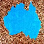 Paysages (Australie) - huile sur liège - 80,5 x 66,5 cm - 1986 (remake 2001) - Musée d'art moderne et contemporain, Strasbourg