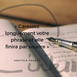 Time to C'ink - Citation - Ecrire - Anatole France