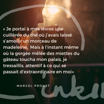 Time to C'ink - Citation - Souvenir - Marcel Proust