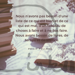 Time to C'ink - Citation - Ecrire - Pullman