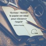 Time to C'ink - Citation - Ecrire - Huxley