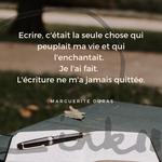 Time to C'ink - Citation - Ralentir - Marguerite Duras