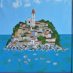 Триптих - Моя Италия (под заказ) 2016