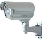 "CAMARA DE SEG. IVIEW 3.6mm 480TVL 1/3""Sony HAD/42 x IR LED Night Vision ~40M/PLATEADA"
