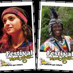 Kakemonos Festival Cultures aux Cœurs - Montignac - Format 150x270cm