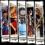 Kakemonos Festival Cultures aux Cœurs - Montignac - Format 50x270cm