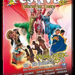 Affiche format A3 - Festival Cultures aux Cœurs 2013 - Montignac