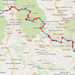 Jour 4: Privas-Besse-et-St Anastaise, 330 kms