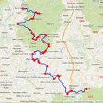 Jour 2: Bort-les-Orgues- Mende, 365 kms