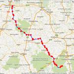 Jour 5: Besse-et-St Anastaise-Tours, 364 kms
