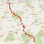 Jour 1: Tours-Bort-les-Orgues, 355 kms