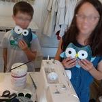 atelier couture enfants hiboux
