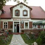 Eingang mit Biergarten