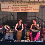 Konzert beim 2. Percussion Cup in Petersberg Juni 2014