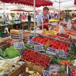 Markt op Zaterdag in Beaune