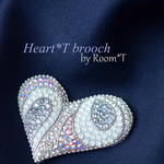 Heart*T brooch/Room *T様