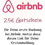 Airbnb 25€ Gutschein
