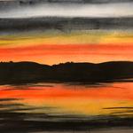 Sunset at Largs, Scotland