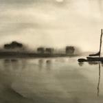 Fog at Tarbert, Harris, Outer Hebrides